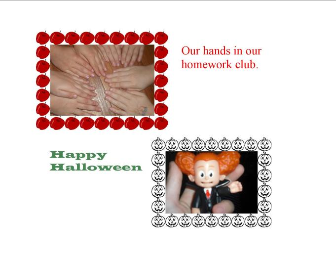 Hands and Halloween