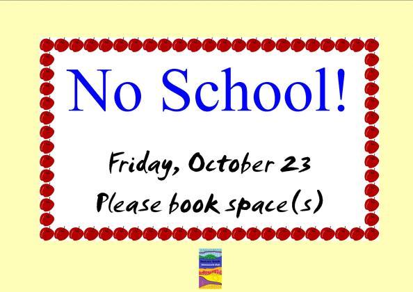 No School Poster October 2015