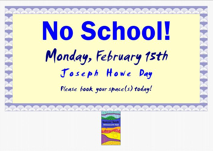 No School Poster Feb 2016