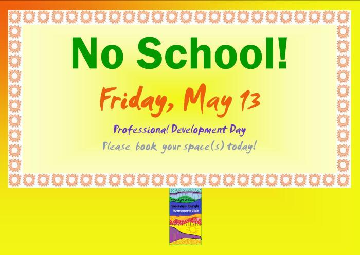 No School Poster 2016