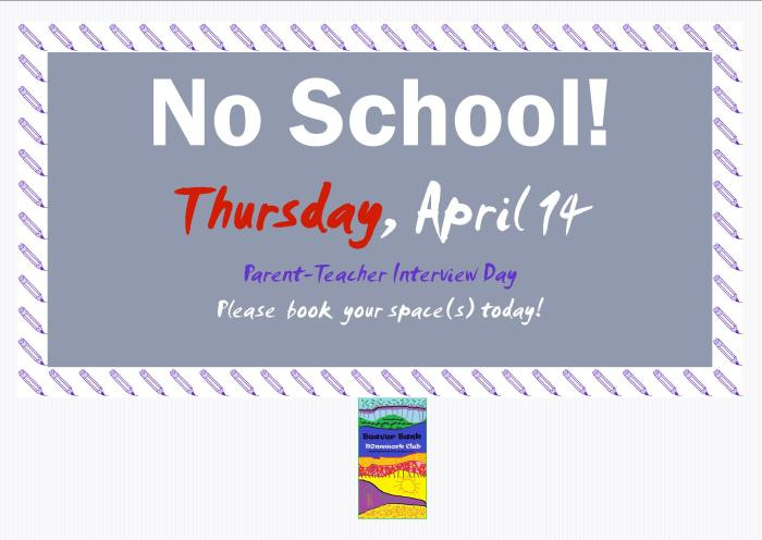 No School Poster April 2016